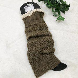Charlotte Daniel Knit Leg Warmers